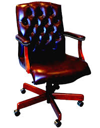 bedroom knockout brown executive chair luxury office leather
