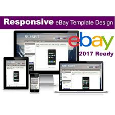 ebay listing template no active content 2017 ready