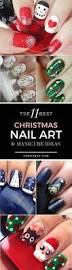the 11 best christmas nail art ideas winter nails makeup and