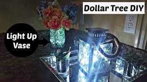 Dollar Cylinder Vases Diy Glowing Floral Vase Dollar Tree U0026 Walmart Flower
