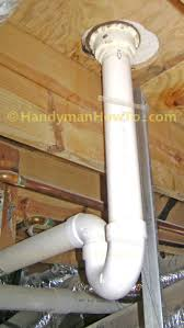Plumbing For Basement Bathroom by How To Finish A Basement Bathroom Shower Drain Rough In