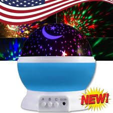 Rotating Night Light Projector Night Light Projector Rotation Ebay
