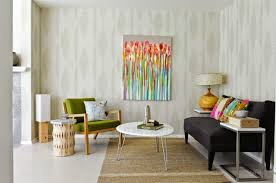 attractive modern living room interior decorating ideas with