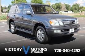 lexus lx 470 car price 2003 lexus lx 470 victory motors of colorado
