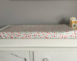 polka dot crib sheet etsy