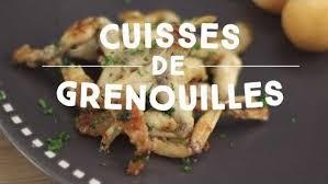 grenouille cuisine est ce que les français mangent vraiment les cuisses de grenouille
