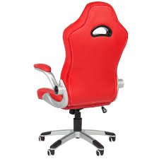 Leather Executive Desk Chair Executive Office Chair Pu Leather Racing Style Bucket Desk Seat