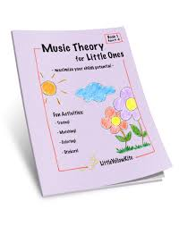 fun and learn music music theory for little ones u2013 book one purple