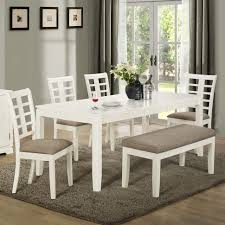 dining 7way dining room set with benchcorner bench table corner