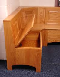 Built In Bench Seat With Storage Built In Storage Bench Plans Kitchen Storage Bench L Shaped With