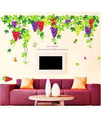 stickerskart living room grapevine design with quote wall decor