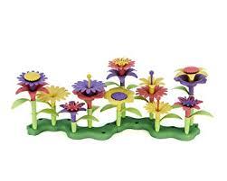 Floral Arrangement Amazon Com Green Toys Build A Bouquet Floral Arrangement Playset