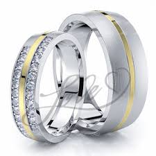 his and hers wedding bands sets wedding ring sets for him with lifetime warranty