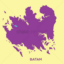 map batam map of batam vector image 1480501 stockunlimited