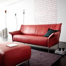 canap dossier haut canapé contemporain en cuir 2 places avec dossier haut frida