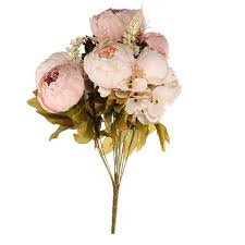 artificial peonies artificial peony bouquet artificial silk flowers home wedding