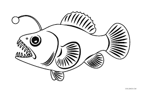 free printable fish coloring pages kids cool2bkids