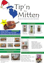Michigan Wineries Map by Tip U0027n The Mitten Michigan Made Food Gifts And More Grayling Mi