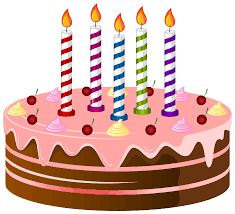 happy birthday cake clipart transparent clipartxtras