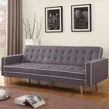 Brayden Studio Corlane MidCentury Modern  Tone Convertible Sofa - Sofa mid century modern