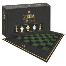 checkmate ganon or link with this legend of zelda chess set