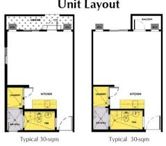 30 Sqm House Interior Design Is It Possible To Have 2 Bedrooms For A 30 Sq Meters Condo