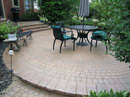 Small Patio Designs With Pavers Backyard Paver Walkway Ideas Innovative Concrete Vs Pavers Cost