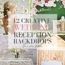 wedding backdrop font wedding reception backdrops http emmalinebride decor
