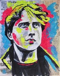 paintings by kateryna bortsova pop art figurative people