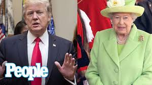 Queen Elizabeth Donald Trump Donald Trump U0027s Visit To The U K Puts The Queen In A U0027very