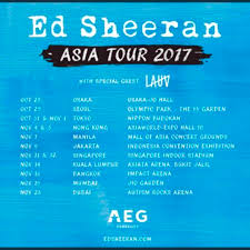 ed sheeran tour 2017 ed sheeran kl live tickets lauv rock zone tickets vouchers