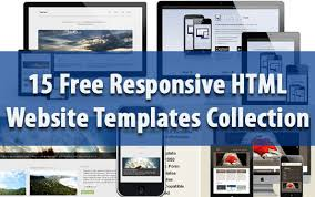 free responsive html templates 15 free responsive html website templates collection jpg