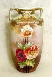 Nippon Hand Painted Vase Nippon Hand Painted Vase Lookup Beforebuying
