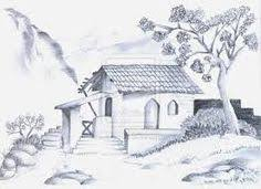 house sketches pencil sketches of nature scenery blanks and
