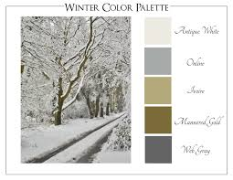 winter color schemes winter color study creating home
