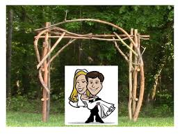 wedding arches rustic rustic wedding arbor
