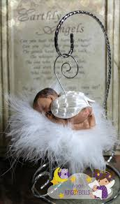 baby memorial custom skin tone and hair baby ornament by