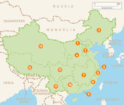 Interactive Map Of Asia by Map Of China China Regions Rough Guides Rough Guides