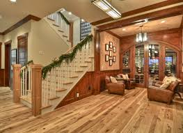 Wood Flooring For Basement by Luann Development Craftsman Basement Los Angeles By Luann