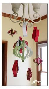 paper ornament mobile sugar bee crafts