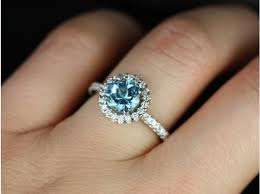 white topaz engagement ring rosados box 7mm white gold sky blue topaz halo