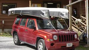 jeep grand cherokee kayak rack how to load two canoes on your vehicle youtube