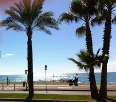 chambre cagne promenade de la plage cagnes sur mer au printemps picture of