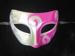 pink masquerade masks silver pink masquerade mask