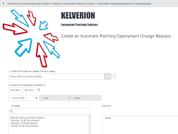 automated patching solution kelverion