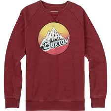 burton retro mountain crew sweatshirt men u0027s outlet seller 2017
