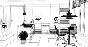 3d modern kitchen interior 001 cgtrader