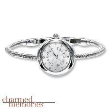 kay jewelers charmed memories kay charmed memories watch 8 inch bracelet sjw011001