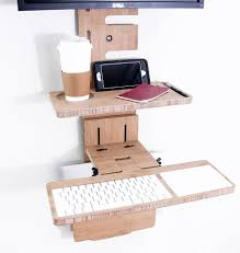modern standing desk outstanding wall mounted standing desk 96 on small room home