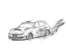 coloring pages drifting cars ford rs1800 drifting cars colouring page ford